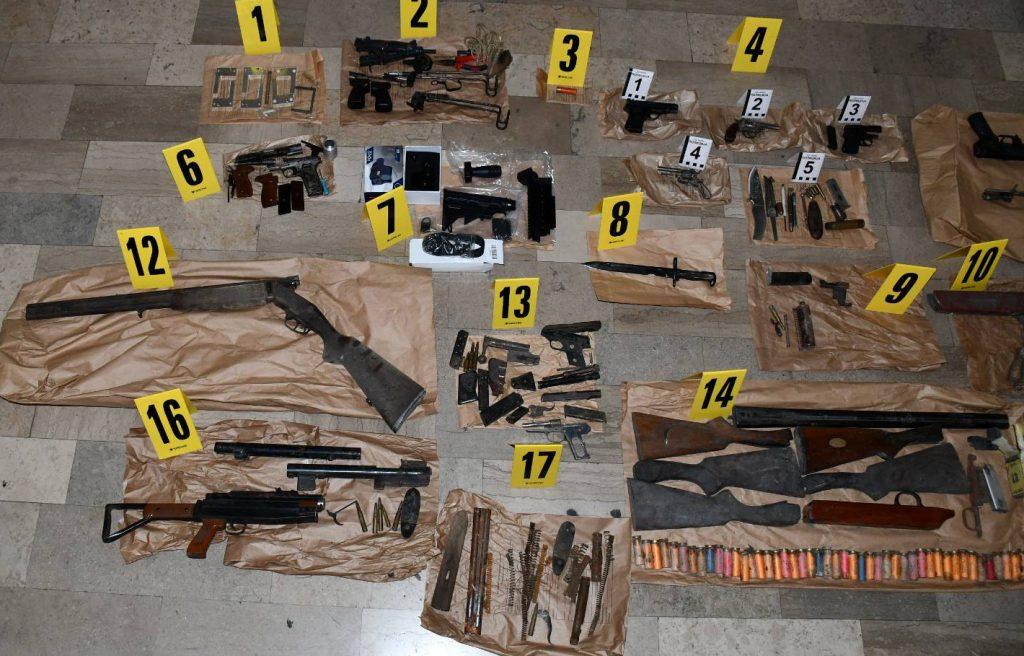 Kod Nišlije pronađen arsenal oružja