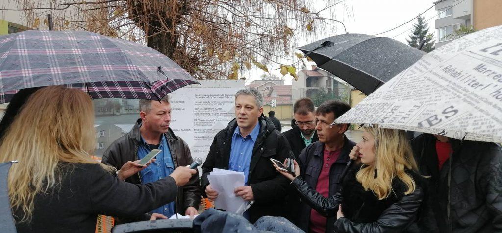 """Leskovačka opozicija traži da tužilaštvo pokrene istragu oko rekonstrukcije škole """"Josif Kostić"""""""
