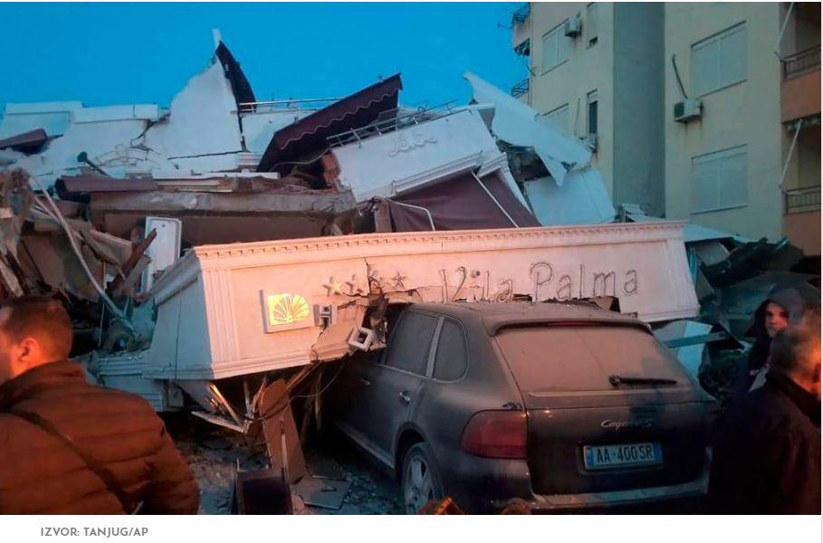 Snažan zemljotres iz Albanije prodrmao Vranjance