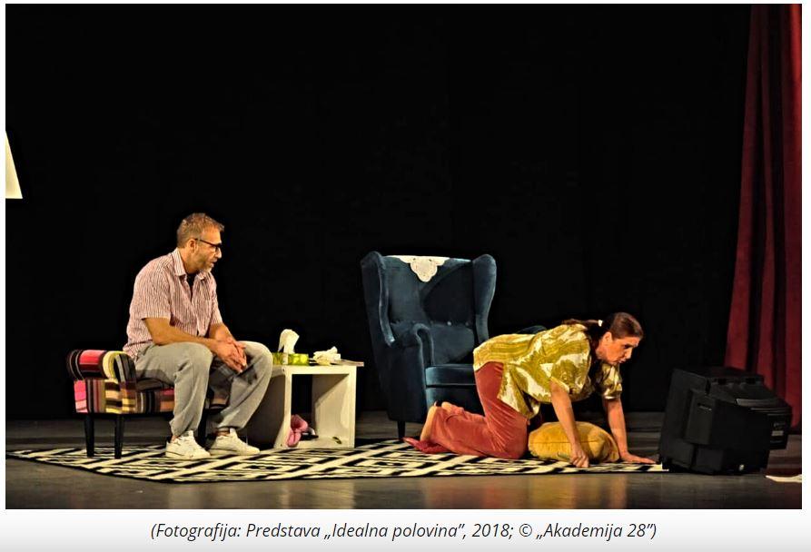 Hit komedija sa Olgom Odanović i Milanom Kalinićem na sceni leskovačkog Narodnog pozorišta