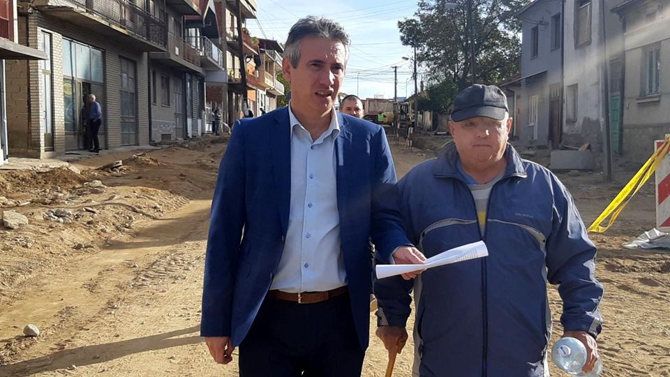 Napreduju radovi na rekonstrukciji Ulice Bore Stankovića