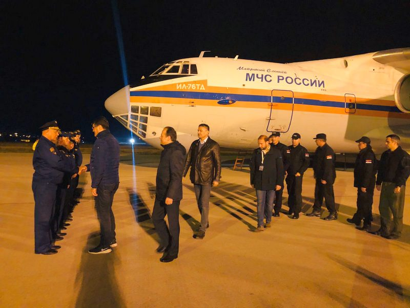 Iljušin konačno sleteo u Srbiju