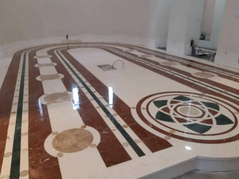 Mozaik u oltaru crkve Svetog Simeona Mirotočivog