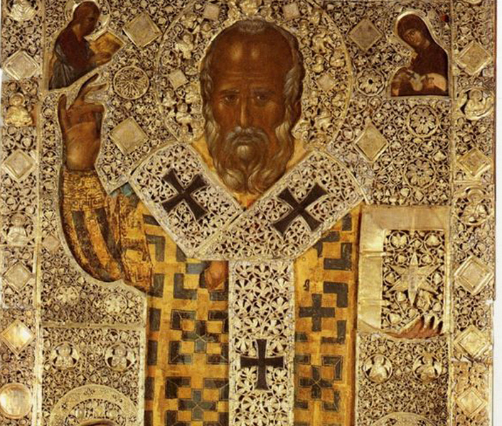 Doček svetinja u Sabornom hramu Svete Trojice