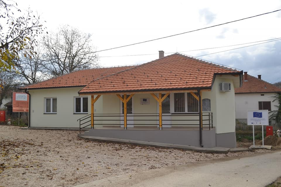 Renoviran Zadružni dom u Dugojnici