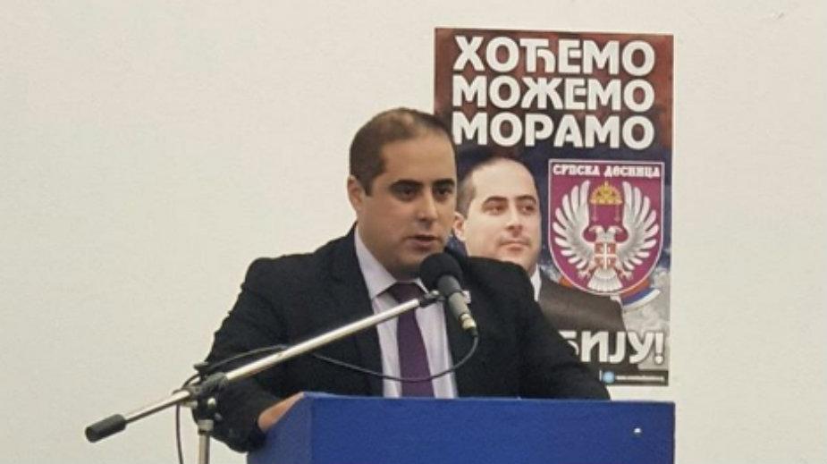Miša Vacić osnovačku skuptinu Srpske desnice držao u zgradi Policijske stanice u Nišu, MUP to demantuje (VIDEO)