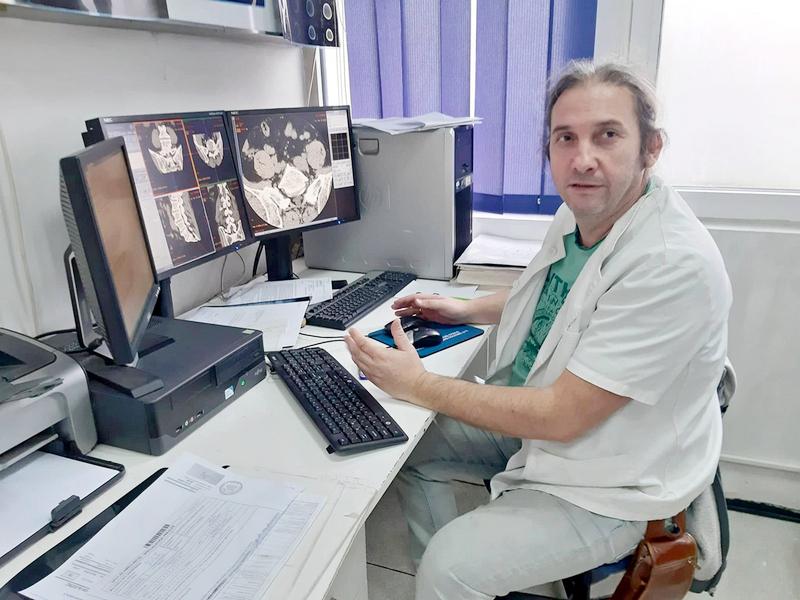 Vranjska Radiologija – služba za primer