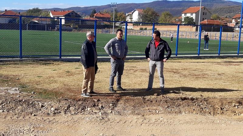 Rekontrukcija stadiona počela od atletske staze