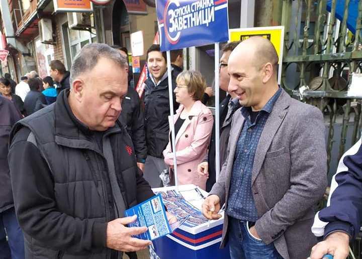 Zavetnici u Leskovcu razgovarali sa građanima