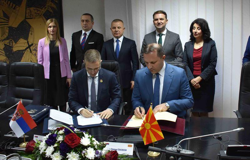 Sporazumi Srbije i Severne Makedonije o suzbijanju krijumčarenja ljudi i novom graničnom prelazu