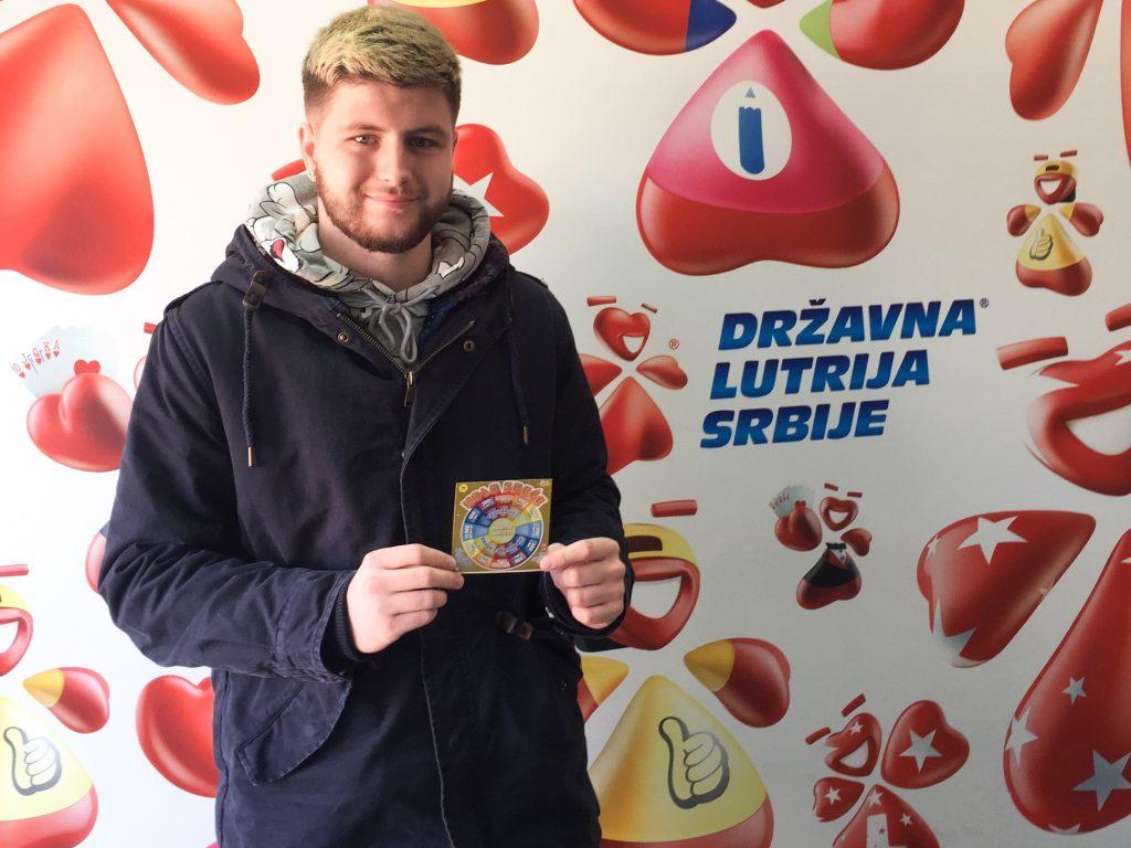 Student iz Leskovca ogrebao srećku i postao milioner