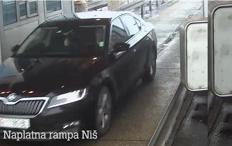 """""""Putevi Srbije"""" dostavili snimak udesa na naplatnoj rampi Doljevac, nedostaju dva ključna minuta"""