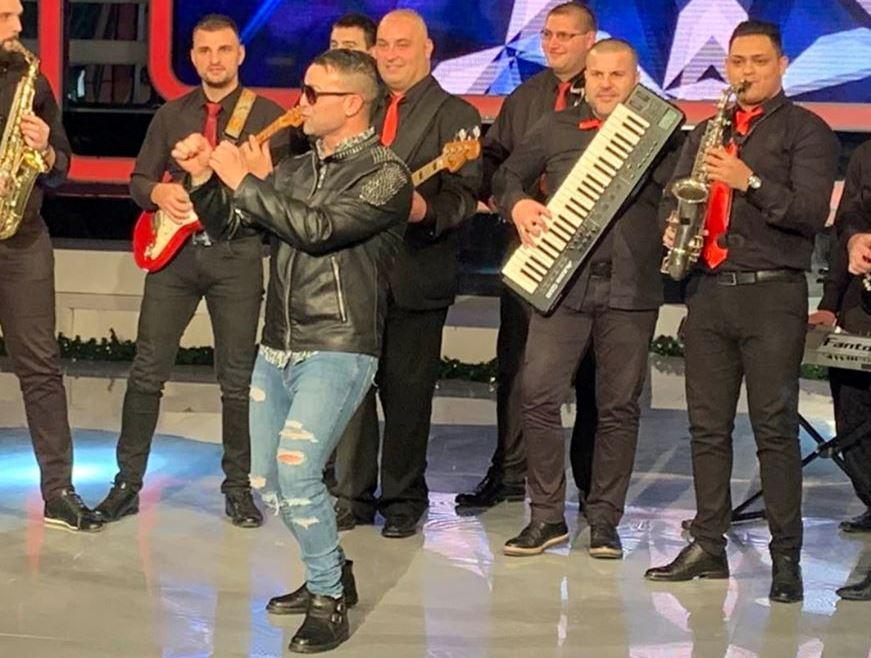 """Novogodišnji koncert romske muzike u hali """"Partizan"""""""