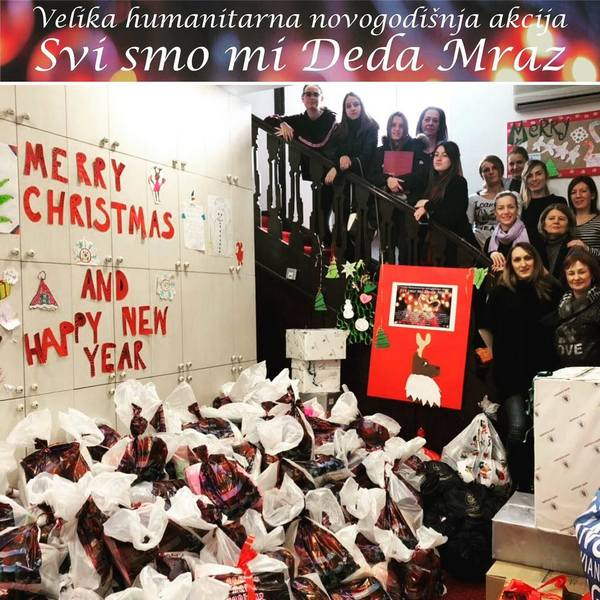 """Počela velika humanitarna akcija """"Svi smo mi Deda Mraz"""", radost i za decu iz Niša"""