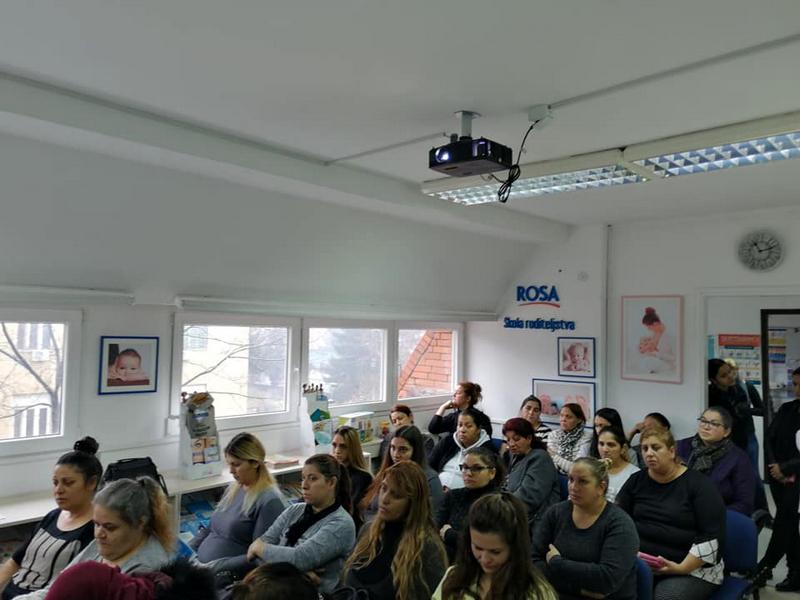Edukacija o zaštiti reproduktivnog zdravlja za Romkinje i migrantkinje