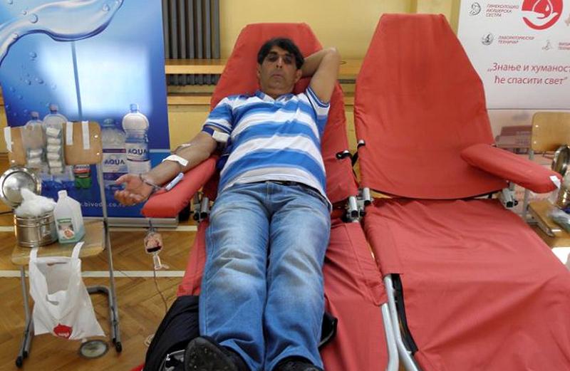 Akcija dobrovoljnog davanja krvi danas do 16 sati