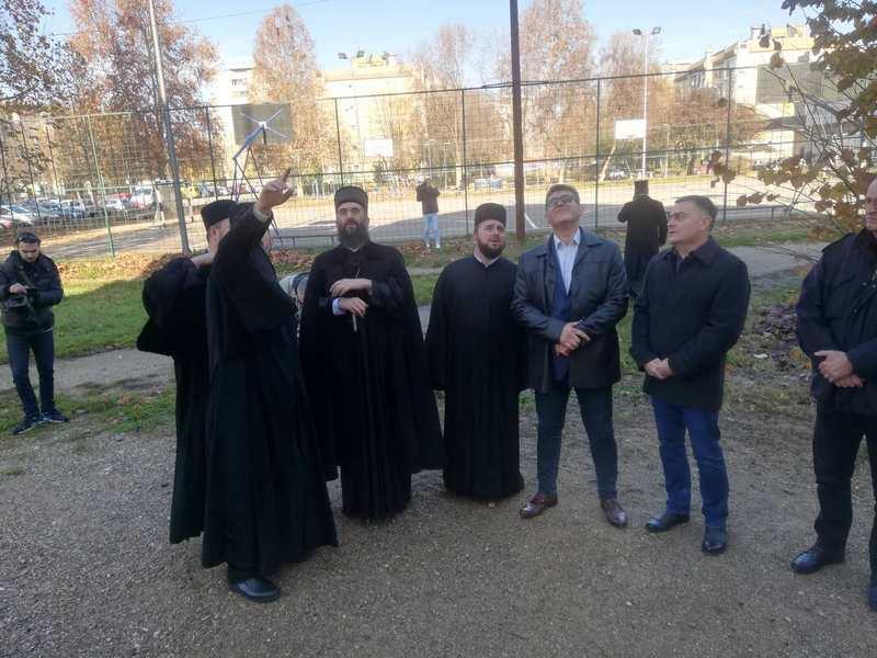 Vladika Arsenije: Hram u Dubočici biće ponos cele niške Eparhije