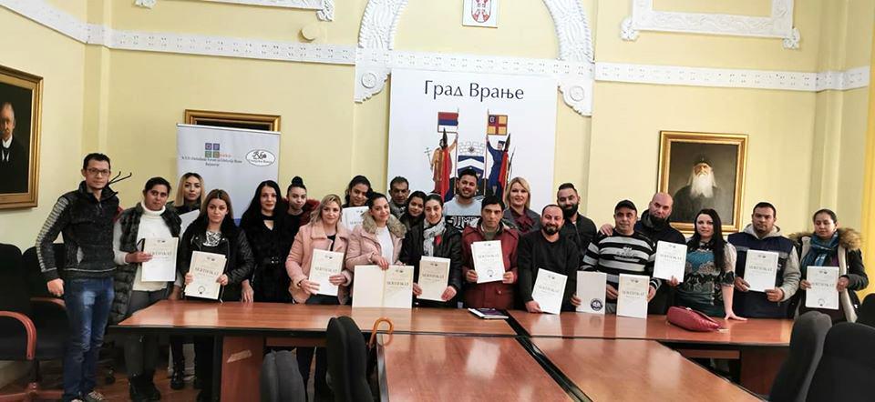 Romima uručeni sertifikati