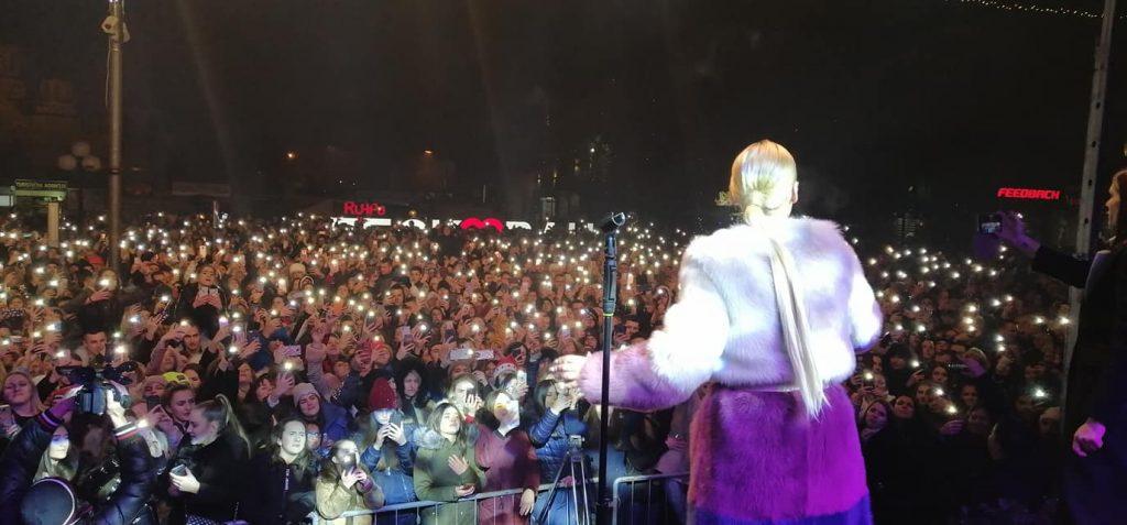 Nataša Bekvalac u Leskovcu dovela atmosferu do usijanja