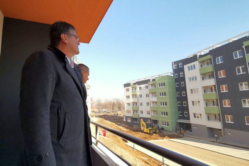 Novi Niš: Prvih 60 stanova u vlasništvu grada