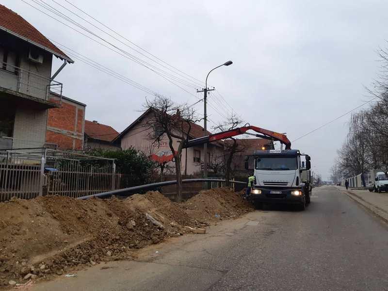 Zbog radova na gasovodu ceo jugoistočni deo Leskovca ostao bez struje