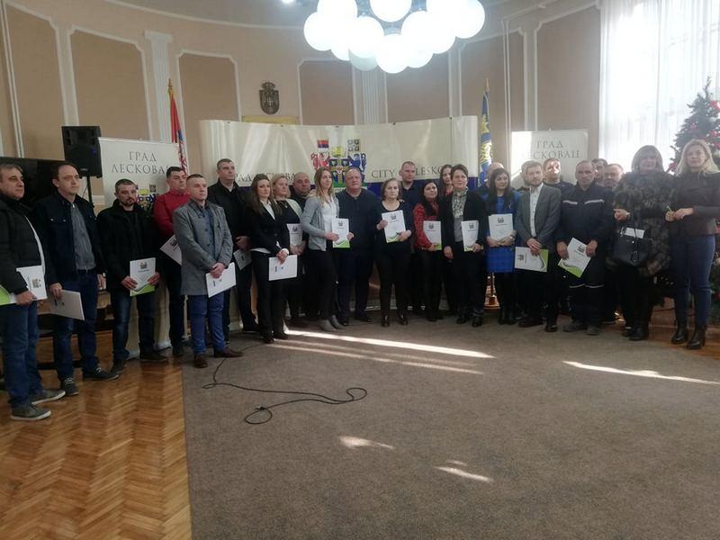 Uz pomoć grada otvoreno 25 novih preduzetničkih radnji u Leskovcu