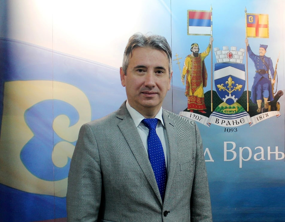 Slobodan Milenković ponovo izabran za gradonačelnika Vranja