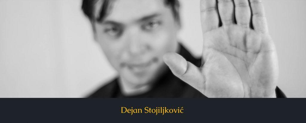 Pisac Dejan Stojiljković pokrenuo svoj sajt