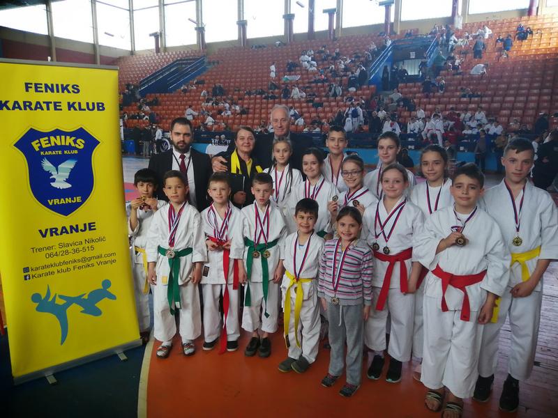 Feniks ne zna za neuspeh, iz Leskovca odneli 31 medalju