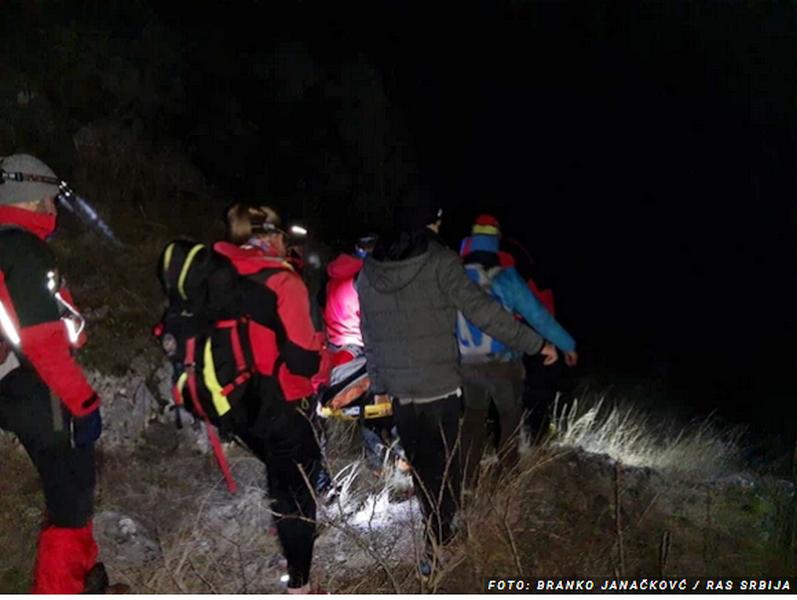 Okončana drama, Gorska služba spasila povređenog penjača iz Jelašničke klisure