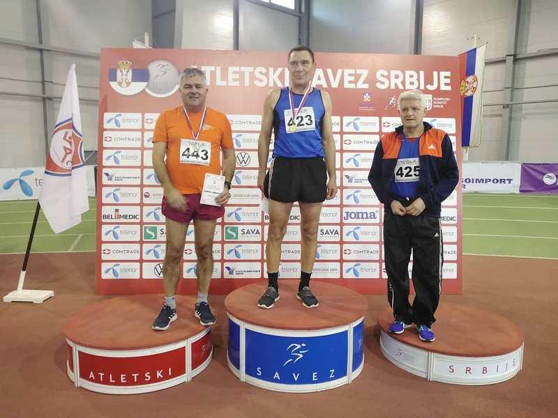 Nebojša Stefanović po treći put državni prvak u hodanju