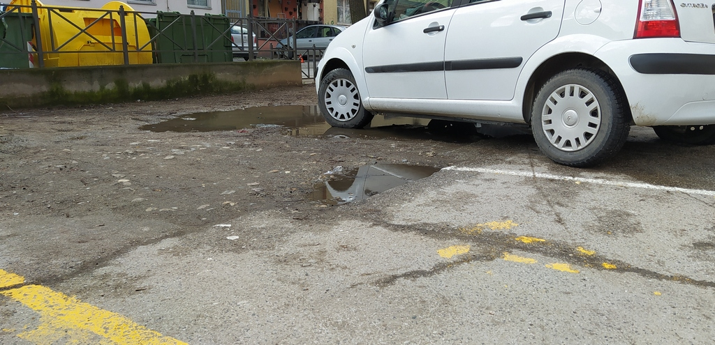Parking mesta i u bari