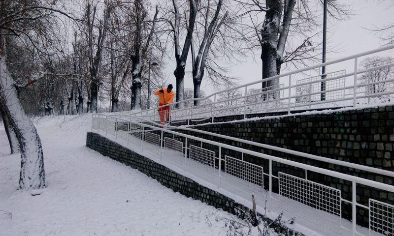 Piroćanci spremno dočekali sneg