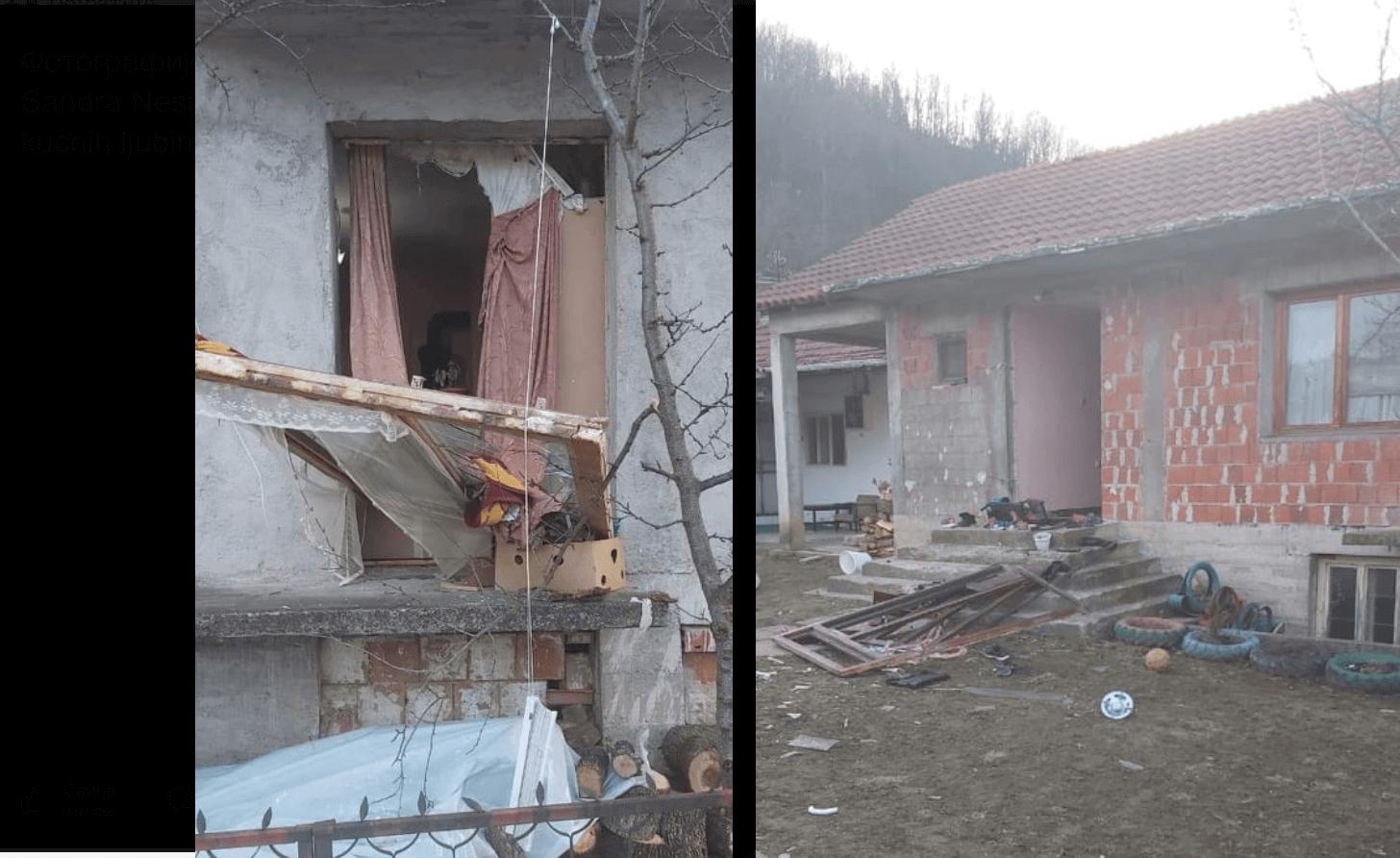 U eksploziji plinske boce u porodičnoj kući u Medveđi povređeno pet osoba, među kojima je i četvorogodišnje dete