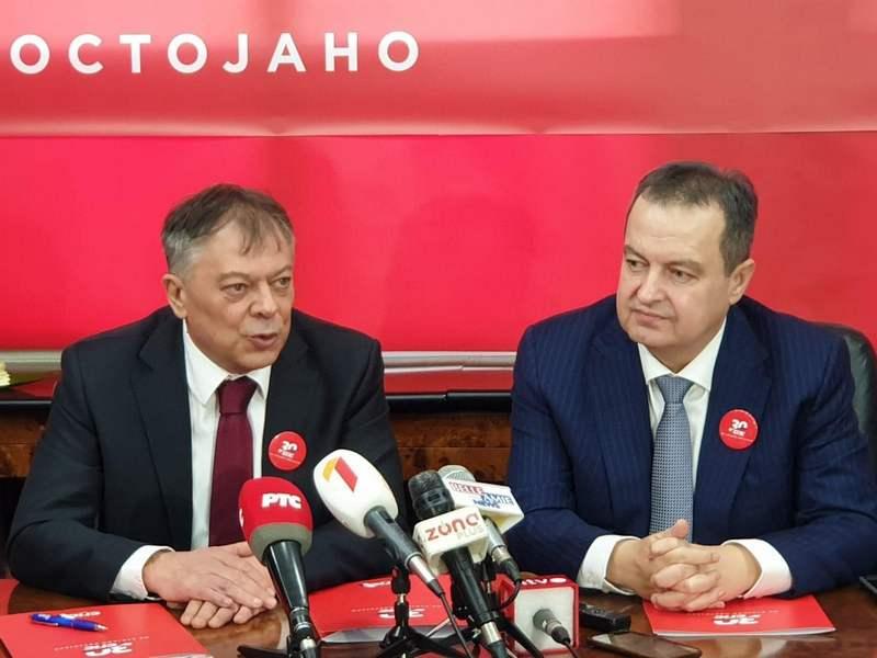 Ivica Dačić: Nastavak saradnje sa SNS, a možda i zajednička izborna lista