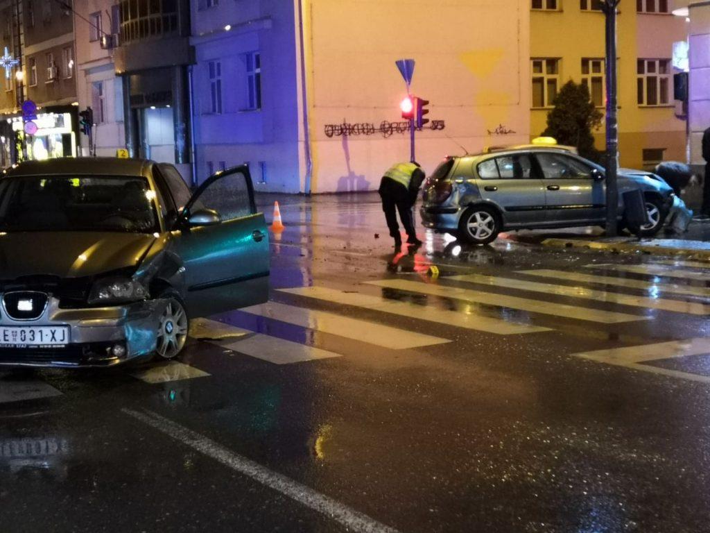 Leskovac: U četiri saobraćajne nezgode dve osobe povređene