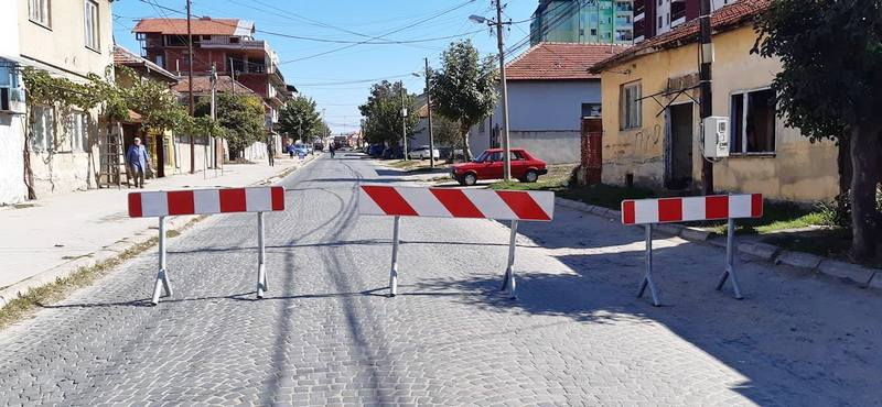 Nastavlja se rekonstrukcija Uluce Bore Stankovića, izmenjen režim saobraćaja