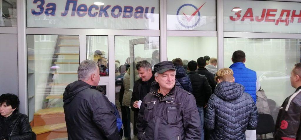 """Grupa građana """"Za Leskovac – Zajedno"""" obustavila prikupljanje potpisa"""