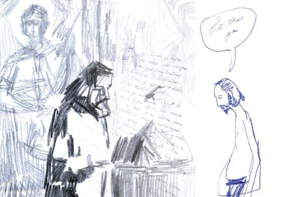 """Slike, crteži i video radovi """"U manastiru"""" u leskovačkom muzeju"""