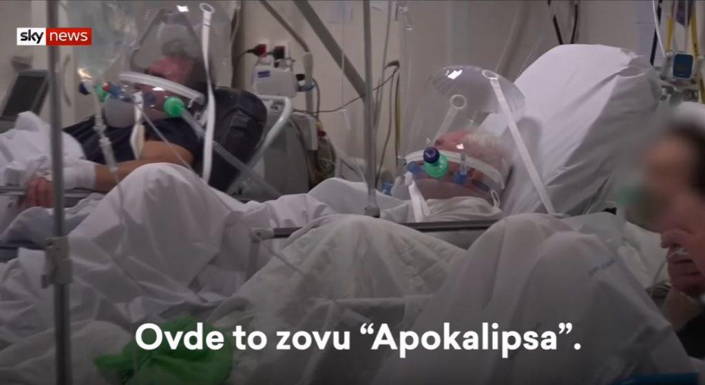 Bolnica u Bergamu otvorila svoja vrata novinarima i upozorava ceo svet: Ovo je APOKALIPSA – (VIDEO)