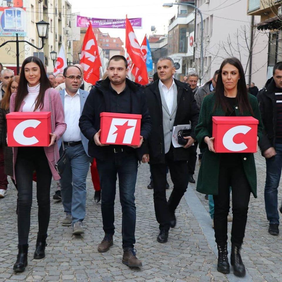 Proglašena izborna lista SPS-a u Vranju