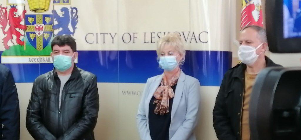Dve osobe obolele od korone iz Leskovca, jedna iz Vlasotinca