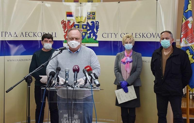 Leskovac: Sedam lekara u samoizolaciji zbog kontakta s prvoobolelim od korone