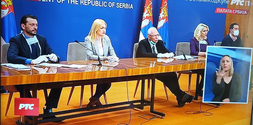 KORONA U Srbiji obolele 384 osobe, u poslednja 24 časa 81, sprema se i za najcrnji scenario