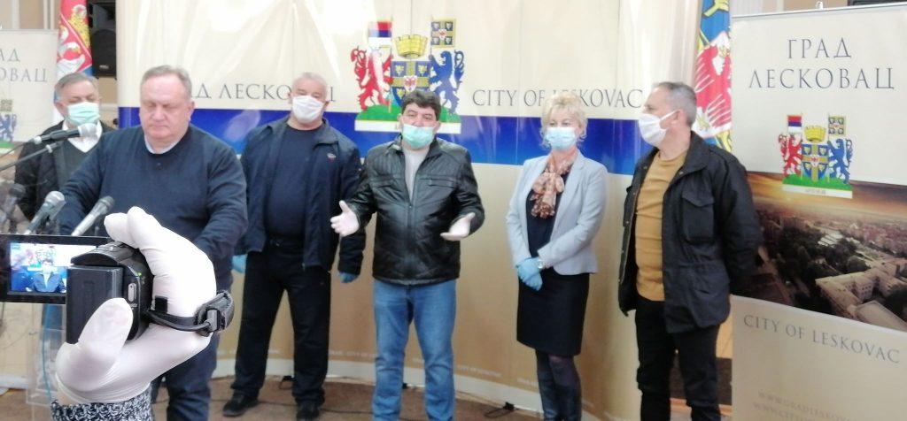 U Leskovcu za četiri dana na koronu testiran samo jedan pacijent, prati se stanje 30 ljudi