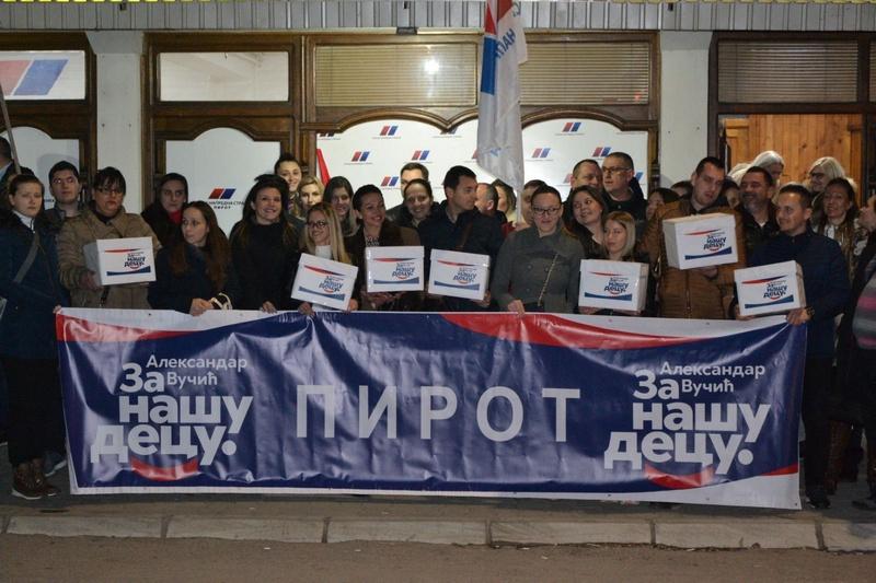 Predata prva odbornička lista i u Pirotu, prvi na listi aktuelni gradonačelnik