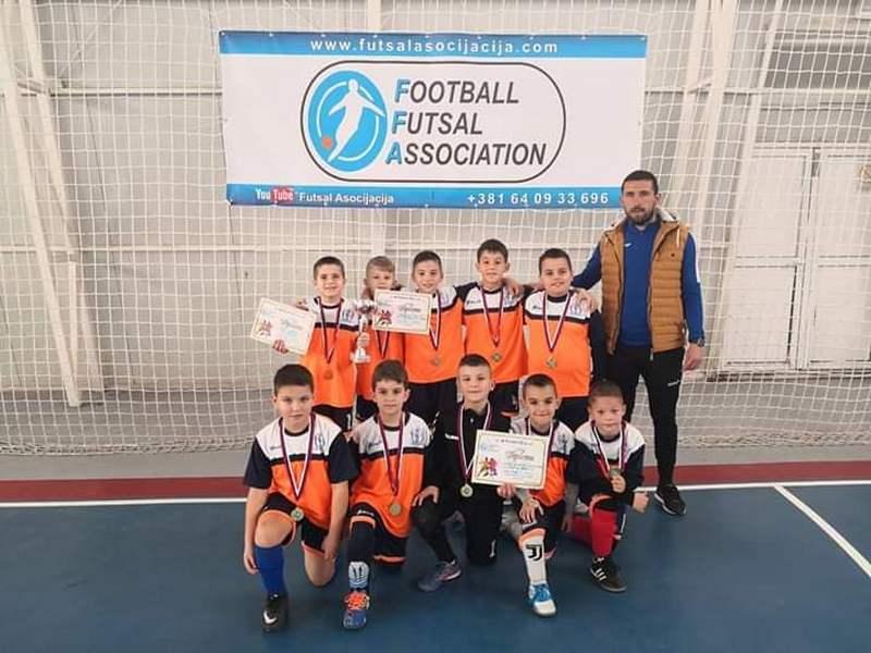 Šampioni iz Leskovca pobednici takmičenja za prvaka Srbije u Futsal dečijoj ligi
