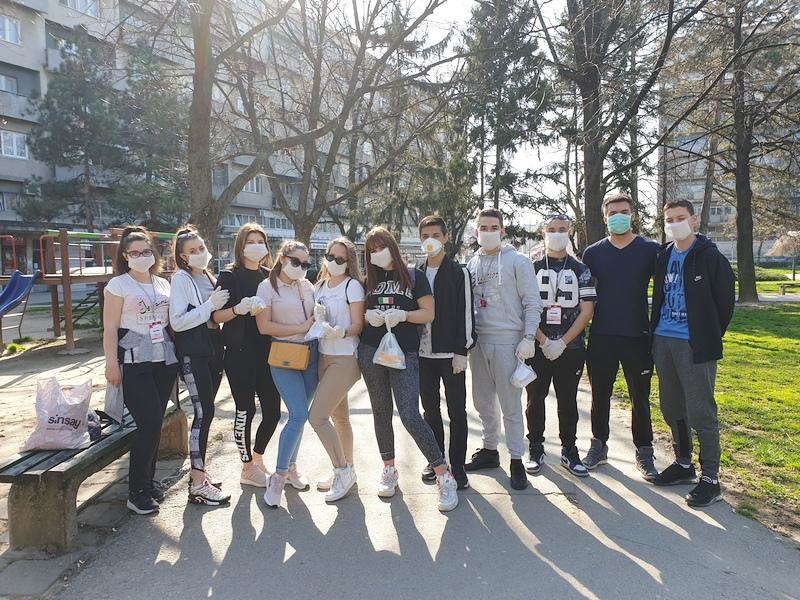 Srednjoškolci iz Leskovca u akciji POKRENI ŽIVOT