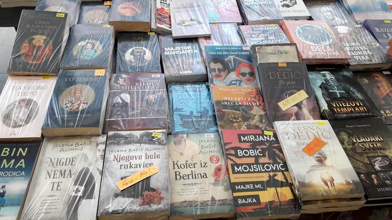 Od sutra Salon knjiga u centru grada