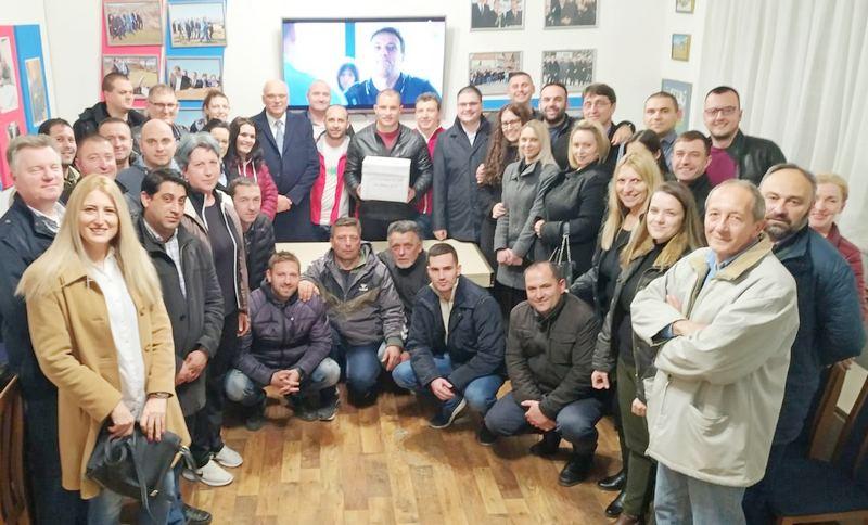Nosilac liste SNS u Lebanu Ivan Bogdanović, predsednik opštine
